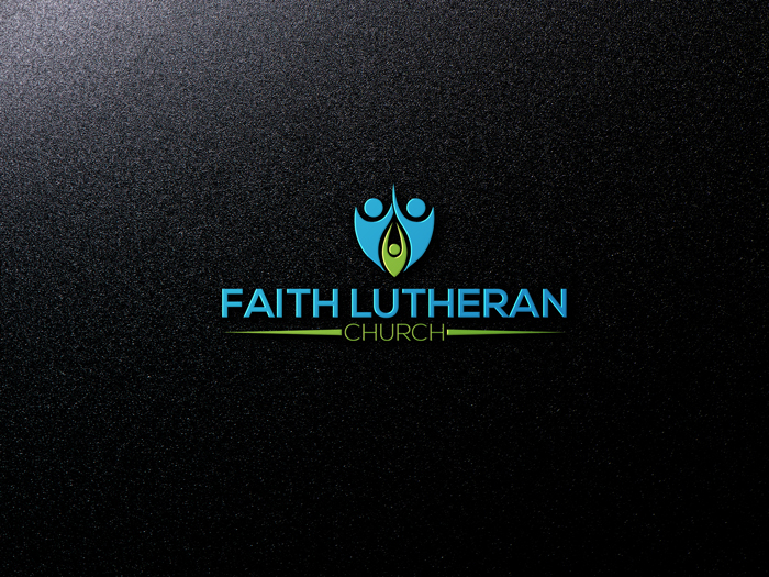 Logo Design by Mohammad azad Hossain - Entry No. 18 in the Logo Design Contest Logo Design for Faith Lutheran Church.