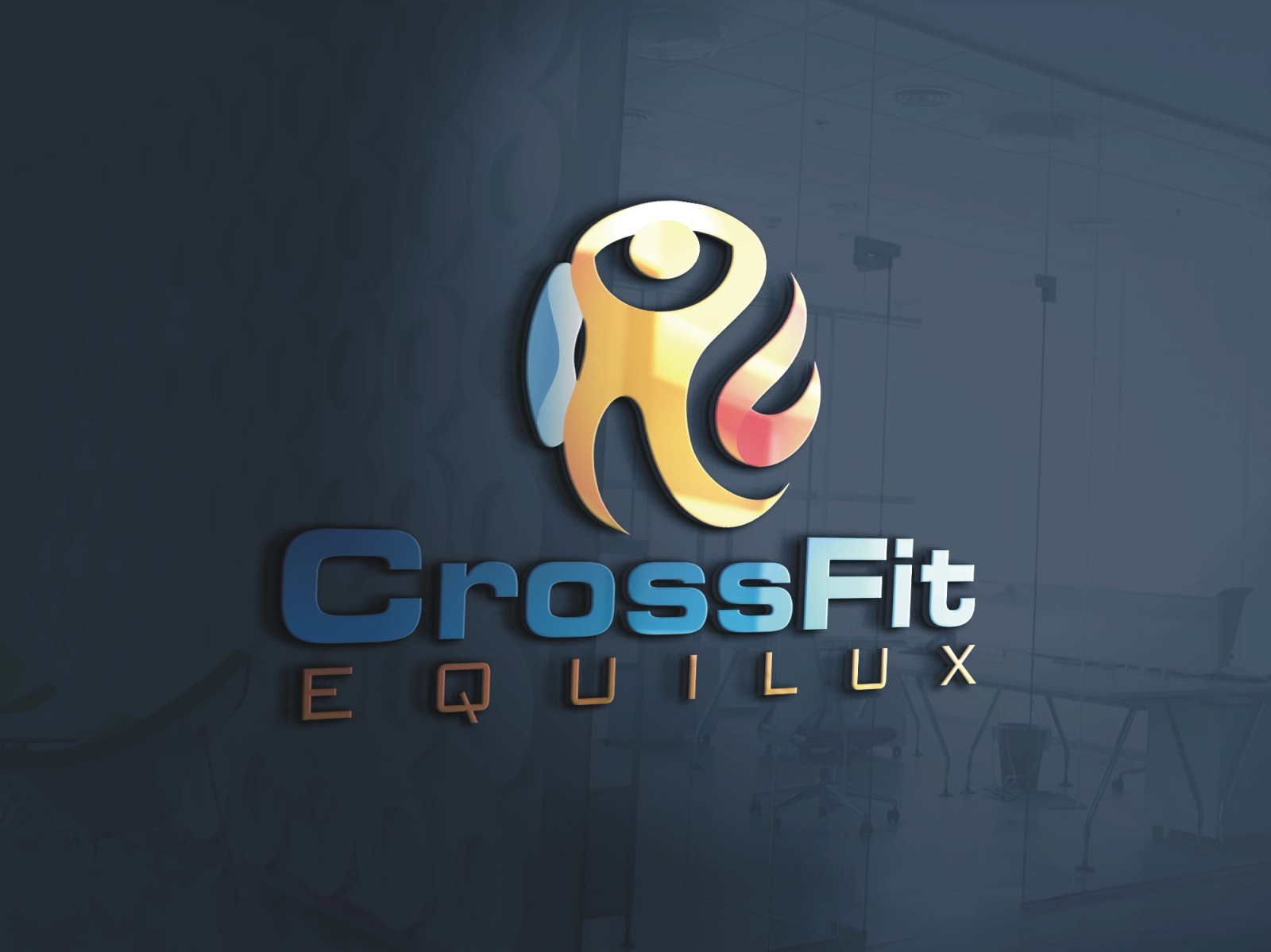Logo Design by Spider Graphics - Entry No. 110 in the Logo Design Contest Unique Logo Design Wanted for CrossFit Equilux.