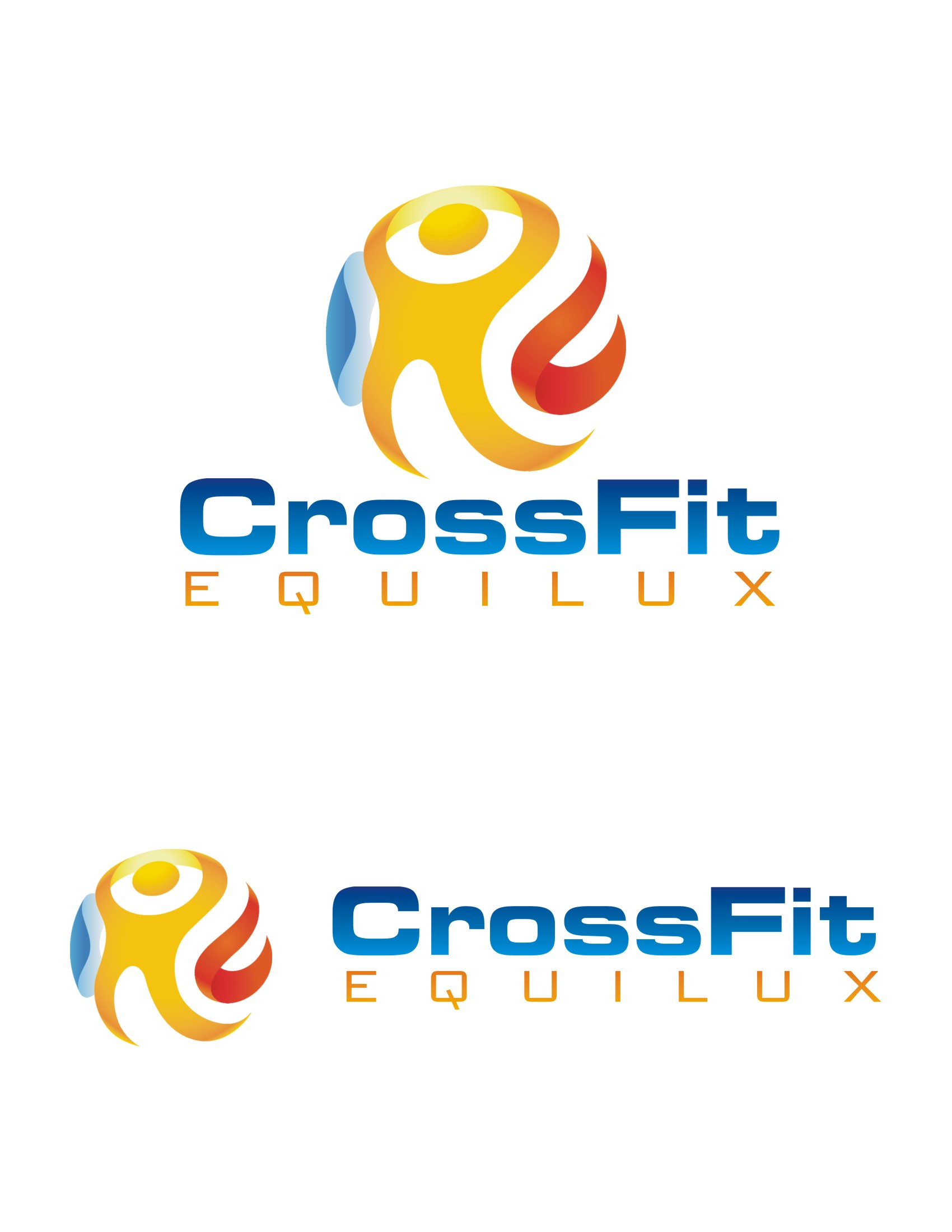 Logo Design by Spider Graphics - Entry No. 111 in the Logo Design Contest Unique Logo Design Wanted for CrossFit Equilux.