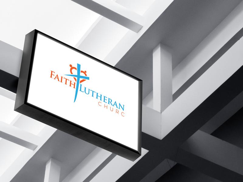 Logo Design by Md Harun Or Rashid - Entry No. 19 in the Logo Design Contest Logo Design for Faith Lutheran Church.