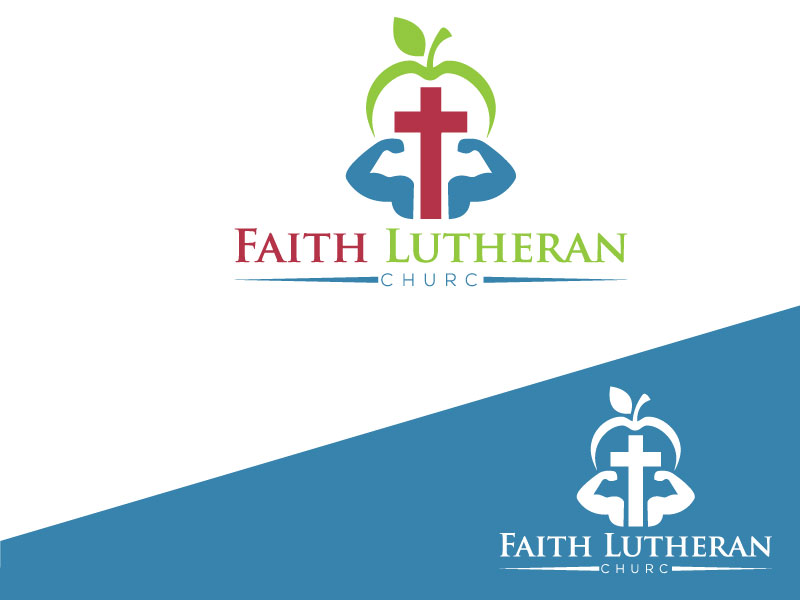 Logo Design by Md Harun Or Rashid - Entry No. 23 in the Logo Design Contest Logo Design for Faith Lutheran Church.