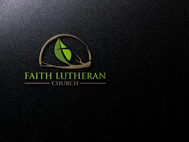 Logo Design by Private User - Entry No. 26 in the Logo Design Contest Logo Design for Faith Lutheran Church.