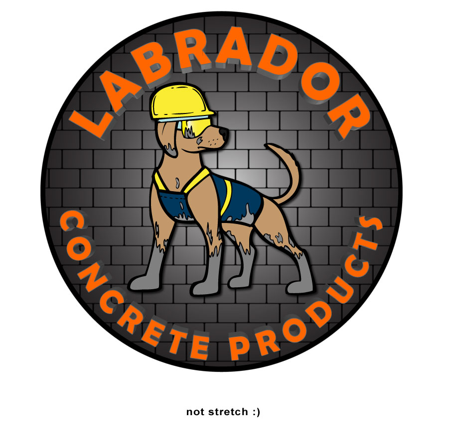 Logo Design by Benedict Estanislao - Entry No. 163 in the Logo Design Contest Logo for Labrador Concrete Products.