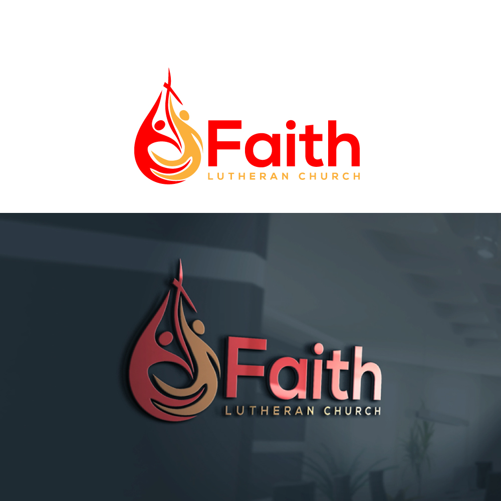 Logo Design by Private User - Entry No. 45 in the Logo Design Contest Logo Design for Faith Lutheran Church.
