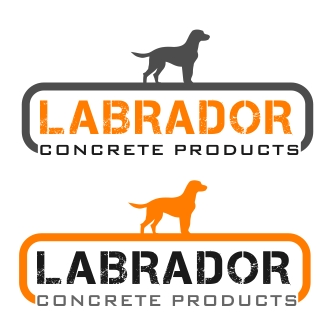 Logo Design by denwy8 - Entry No. 166 in the Logo Design Contest Logo for Labrador Concrete Products.