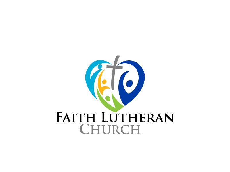 Logo Design by brands_in - Entry No. 49 in the Logo Design Contest Logo Design for Faith Lutheran Church.