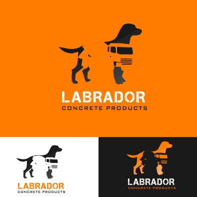 Logo Design by denwy8 - Entry No. 168 in the Logo Design Contest Logo for Labrador Concrete Products.