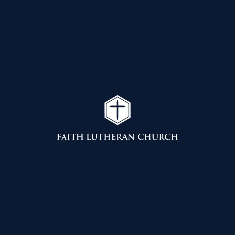 Logo Design by 354studio - Entry No. 51 in the Logo Design Contest Logo Design for Faith Lutheran Church.