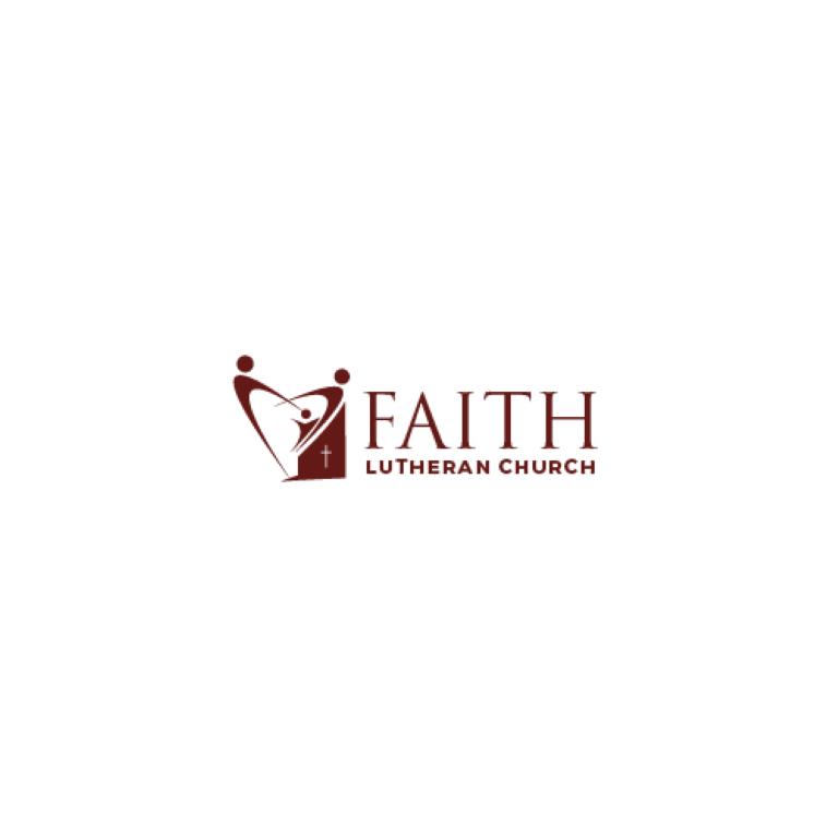Logo Design by 354studio - Entry No. 55 in the Logo Design Contest Logo Design for Faith Lutheran Church.