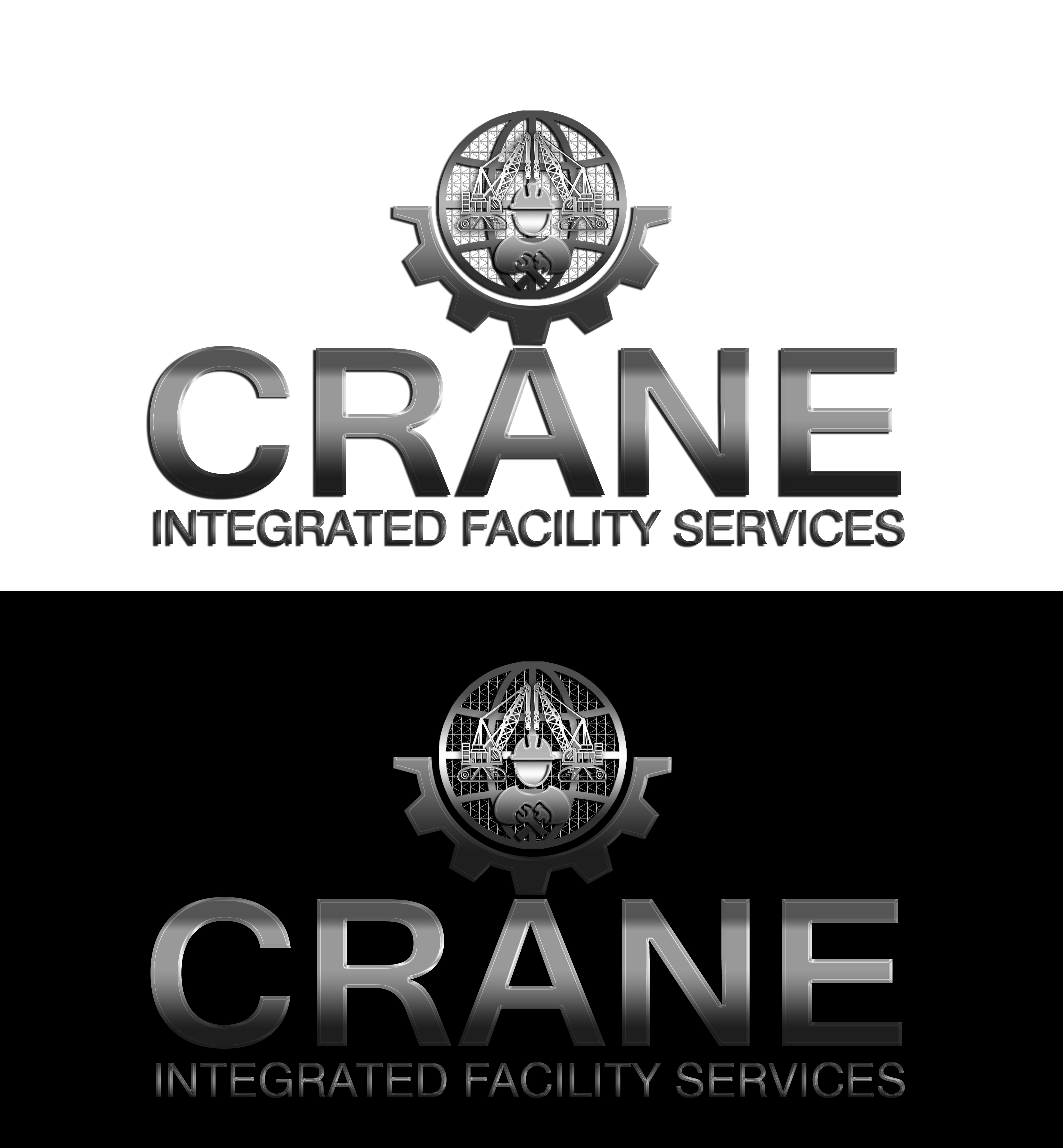Logo Design by JSDESIGNGROUP - Entry No. 116 in the Logo Design Contest Inspiring Logo Design for Crane Integrated Facility Services.