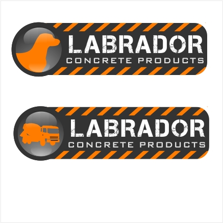 Logo Design by denwy8 - Entry No. 170 in the Logo Design Contest Logo for Labrador Concrete Products.