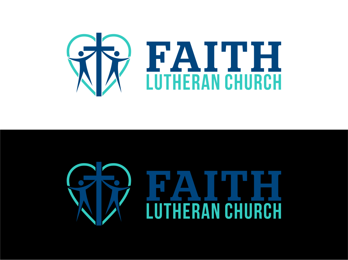 Logo Design by Private User - Entry No. 58 in the Logo Design Contest Logo Design for Faith Lutheran Church.