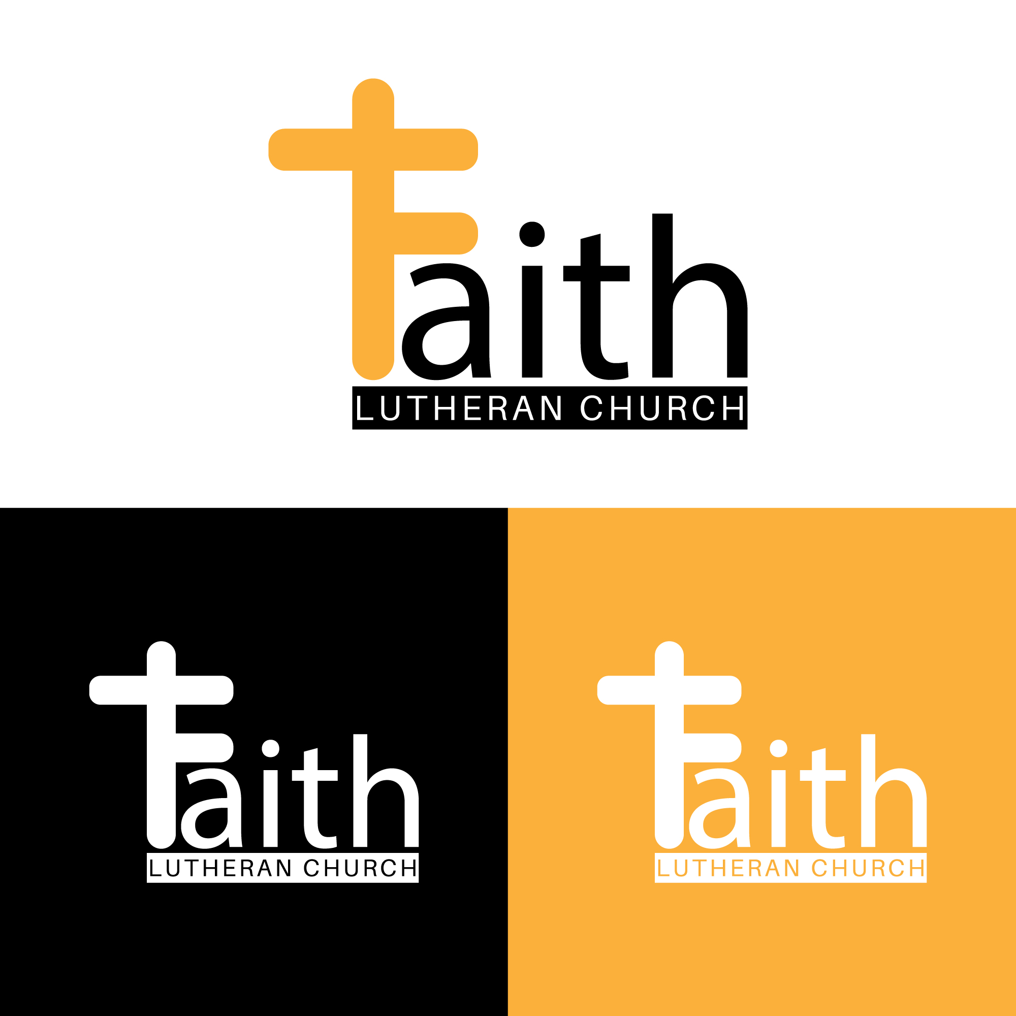 Logo Design by Private User - Entry No. 60 in the Logo Design Contest Logo Design for Faith Lutheran Church.