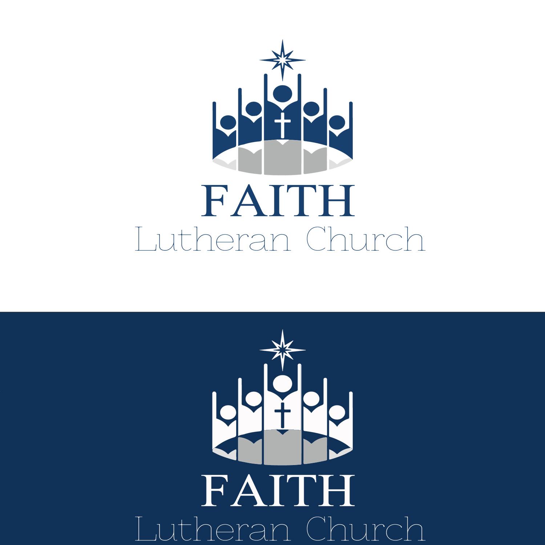 Logo Design by YANUAR ANTABUA - Entry No. 68 in the Logo Design Contest Logo Design for Faith Lutheran Church.