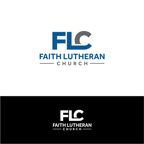 Logo Design by Rizky Hermawan - Entry No. 75 in the Logo Design Contest Logo Design for Faith Lutheran Church.