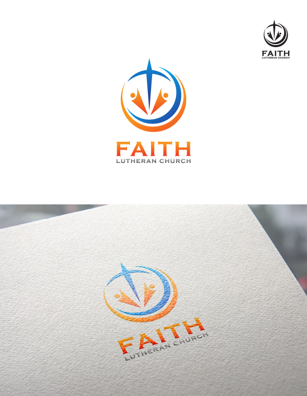 Logo Design by Tauhid Shaikh - Entry No. 84 in the Logo Design Contest Logo Design for Faith Lutheran Church.