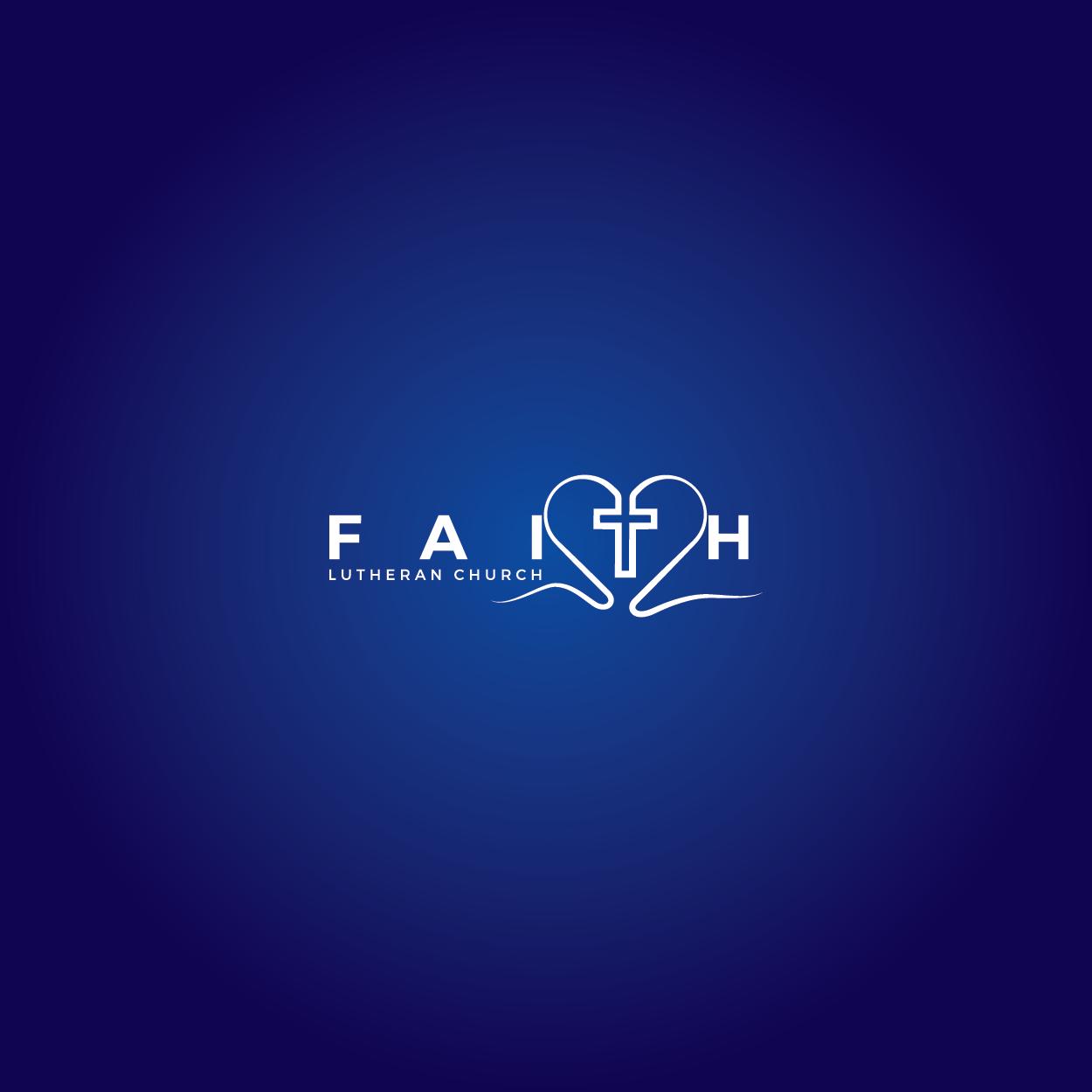 Logo Design by 354studio - Entry No. 89 in the Logo Design Contest Logo Design for Faith Lutheran Church.