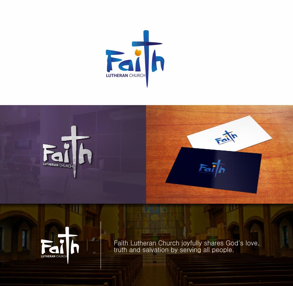 Logo Design by Greenleaf Design - Entry No. 94 in the Logo Design Contest Logo Design for Faith Lutheran Church.