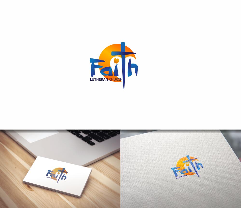 Logo Design by Greenleaf Design - Entry No. 95 in the Logo Design Contest Logo Design for Faith Lutheran Church.