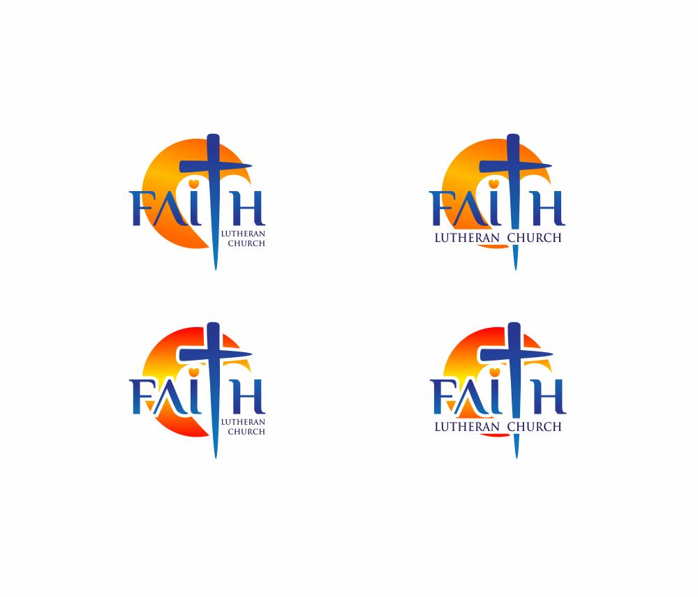 Logo Design by Greenleaf Design - Entry No. 96 in the Logo Design Contest Logo Design for Faith Lutheran Church.
