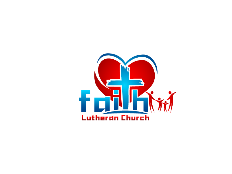 Logo Design by Private User - Entry No. 100 in the Logo Design Contest Logo Design for Faith Lutheran Church.