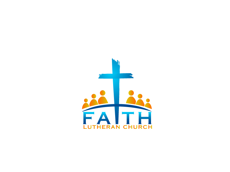 Logo Design by Private User - Entry No. 102 in the Logo Design Contest Logo Design for Faith Lutheran Church.