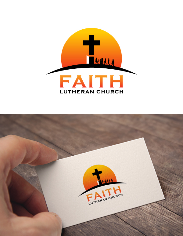 Logo Design by Tauhid Shaikh - Entry No. 106 in the Logo Design Contest Logo Design for Faith Lutheran Church.