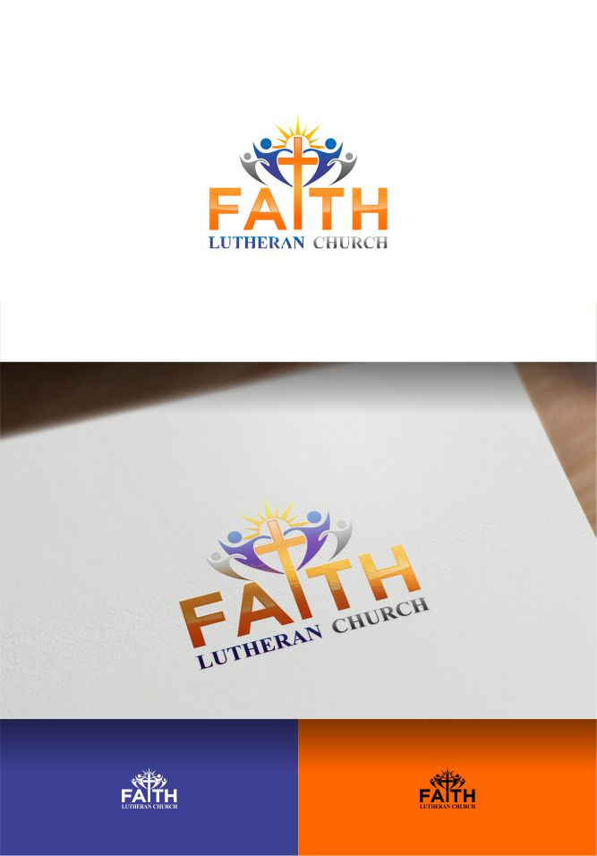 Logo Design by Raymond Garcia - Entry No. 107 in the Logo Design Contest Logo Design for Faith Lutheran Church.