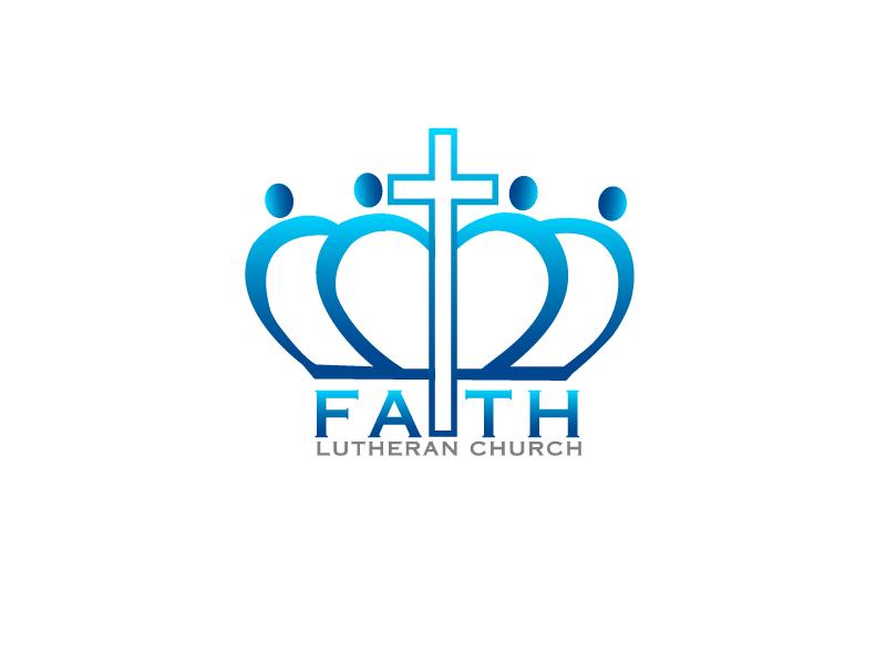 Logo Design by Private User - Entry No. 108 in the Logo Design Contest Logo Design for Faith Lutheran Church.