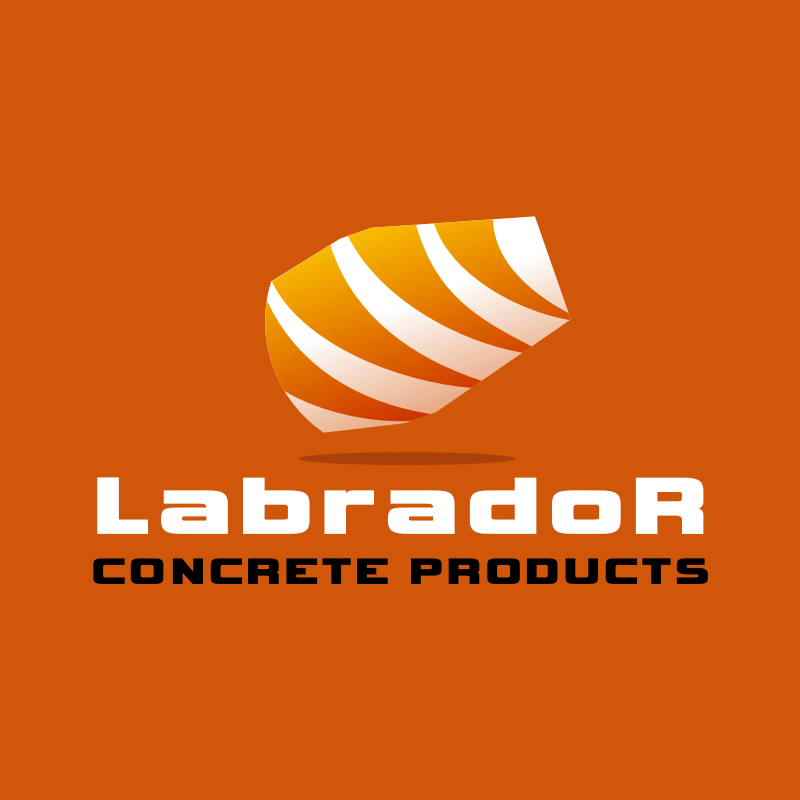 Logo Design by Rudy - Entry No. 176 in the Logo Design Contest Logo for Labrador Concrete Products.