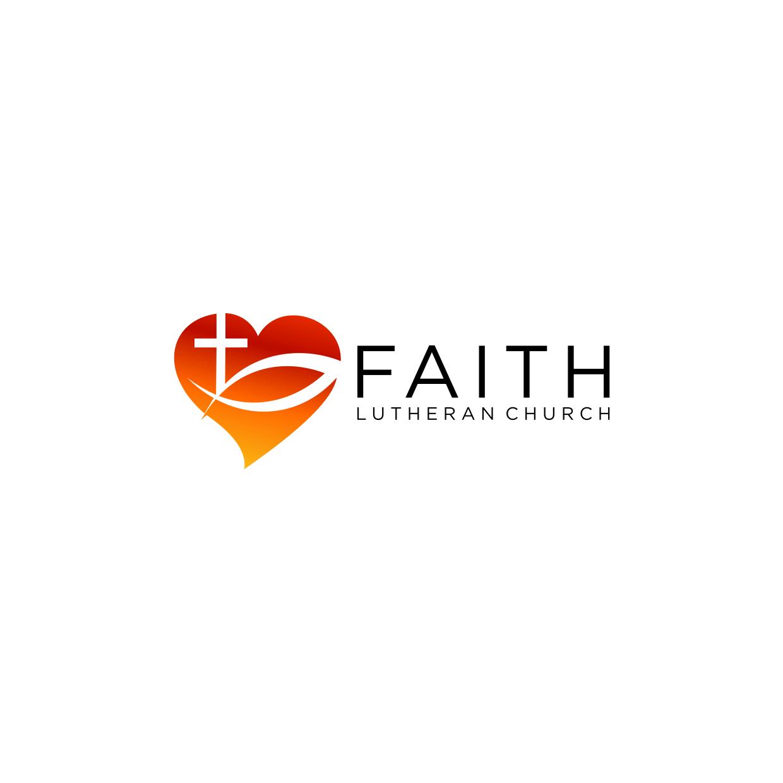 Logo Design by Analla Art - Entry No. 120 in the Logo Design Contest Logo Design for Faith Lutheran Church.