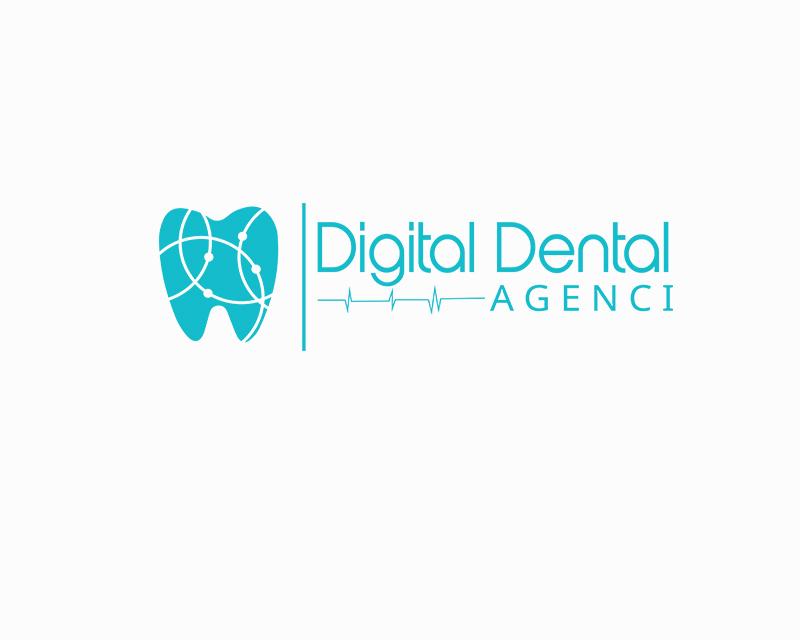 Logo Design by YANUAR ANTABUA - Entry No. 5 in the Logo Design Contest Imaginative Logo Design for Digital Dental Agency.