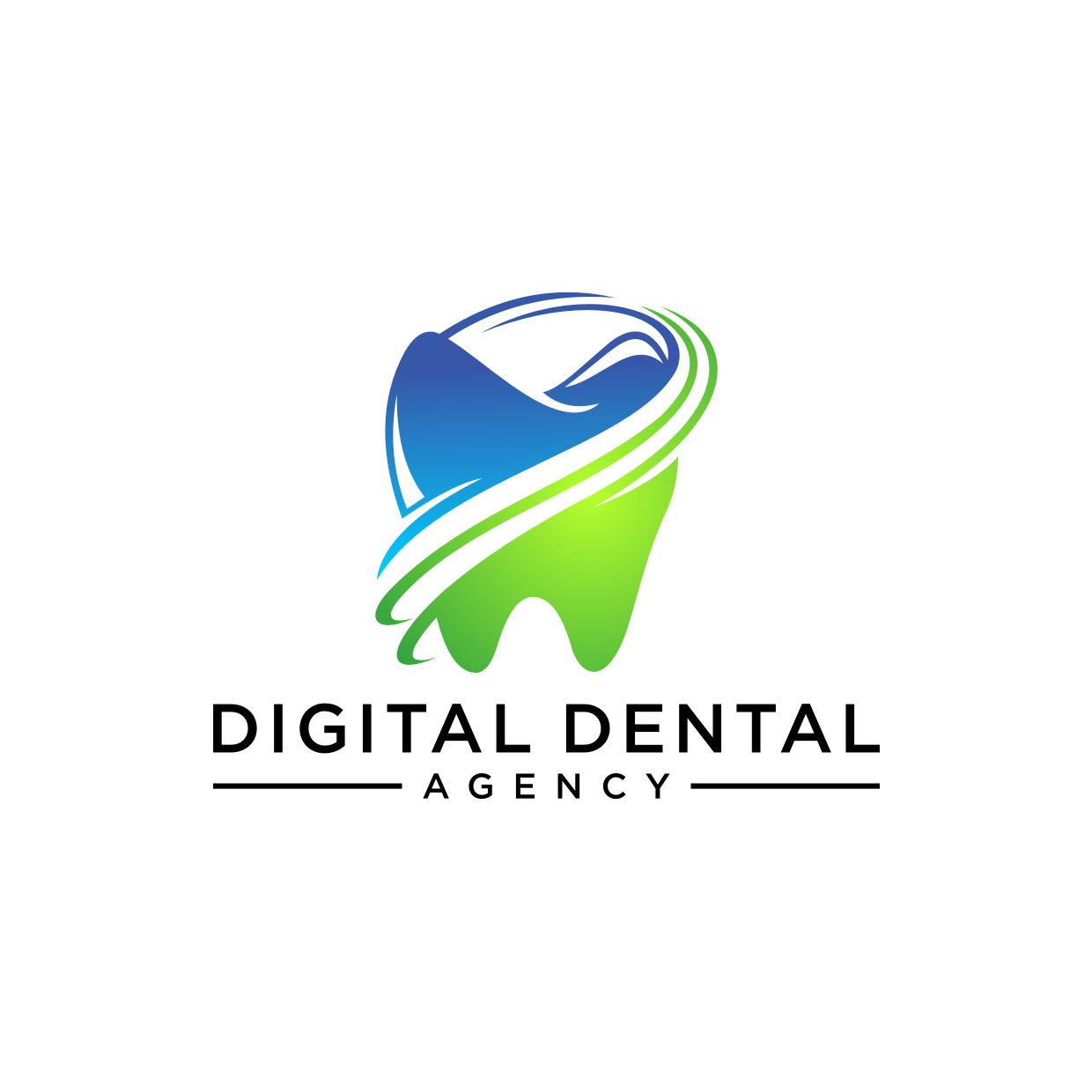 Logo Design by Analla Art - Entry No. 7 in the Logo Design Contest Imaginative Logo Design for Digital Dental Agency.