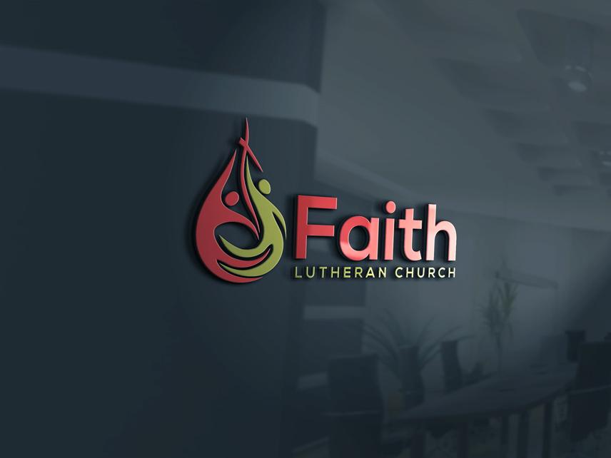 Logo Design by Private User - Entry No. 124 in the Logo Design Contest Logo Design for Faith Lutheran Church.