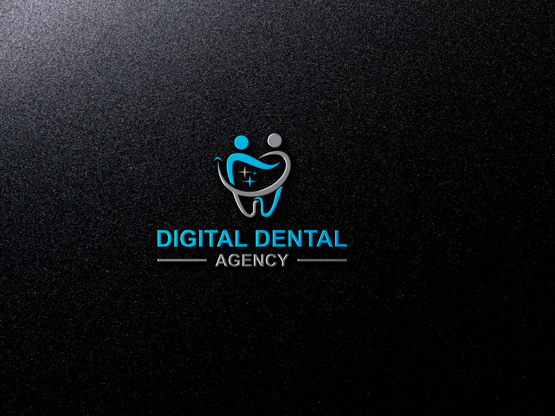 Logo Design by Private User - Entry No. 13 in the Logo Design Contest Imaginative Logo Design for Digital Dental Agency.