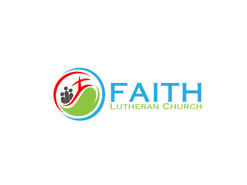 Logo Design by brands_in - Entry No. 132 in the Logo Design Contest Logo Design for Faith Lutheran Church.