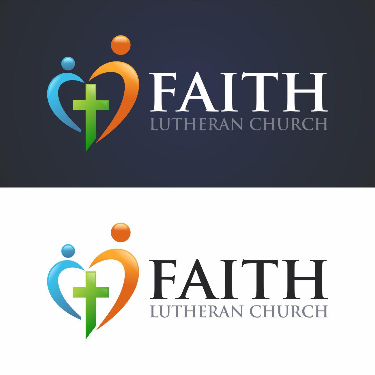 Logo Design by RasYa Muhammad Athaya - Entry No. 133 in the Logo Design Contest Logo Design for Faith Lutheran Church.