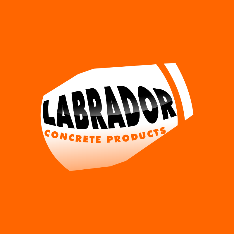 Logo Design by Rudy - Entry No. 183 in the Logo Design Contest Logo for Labrador Concrete Products.