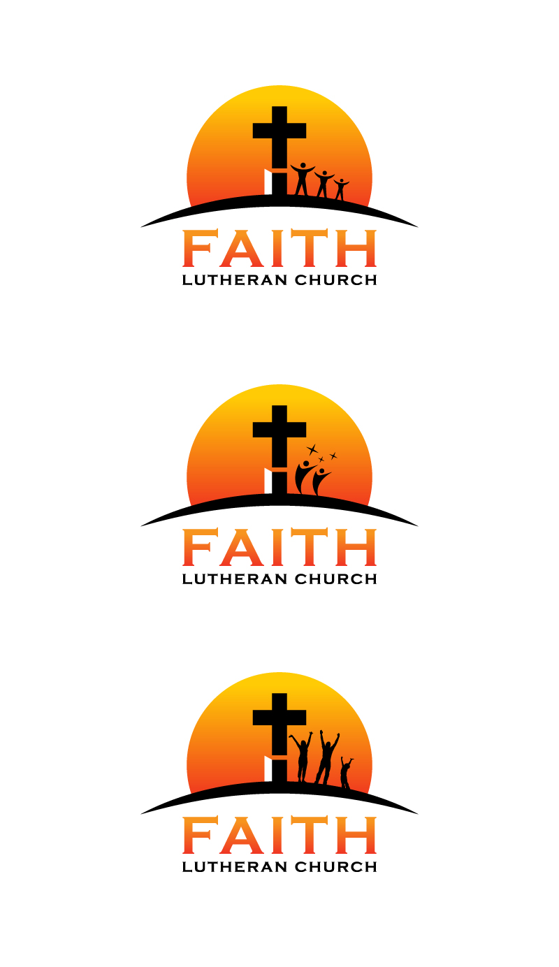 Logo Design by Tauhid Shaikh - Entry No. 136 in the Logo Design Contest Logo Design for Faith Lutheran Church.