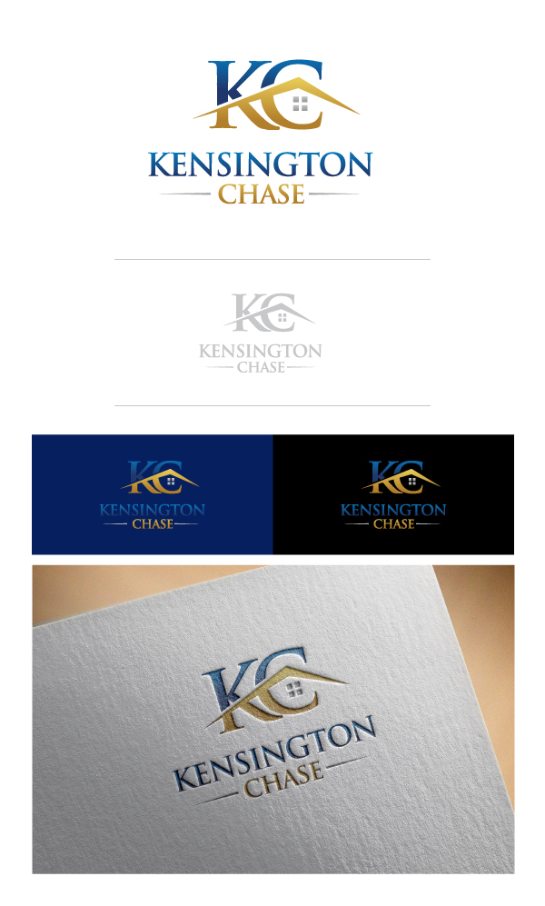 Logo Design by Tauhid Shaikh - Entry No. 27 in the Logo Design Contest Kensington Chase  Logo Design.