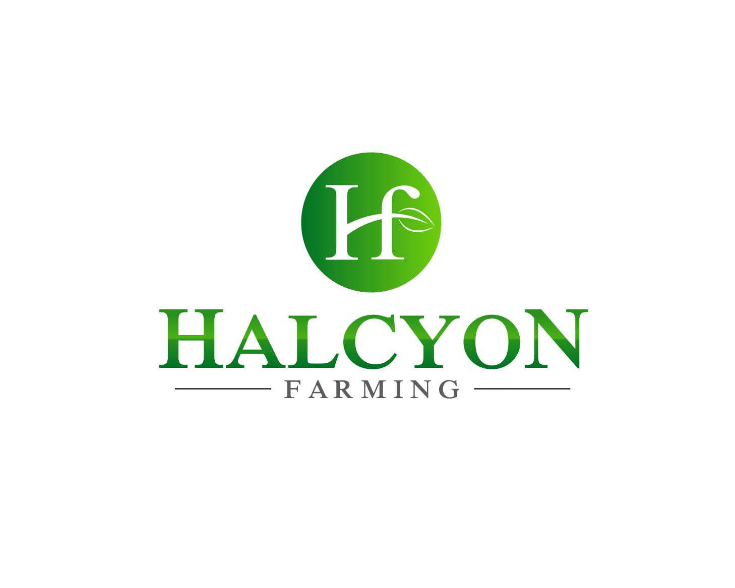 Logo Design by Allan Esclamado - Entry No. 1 in the Logo Design Contest Creative Logo Design for Halcyon Farming.