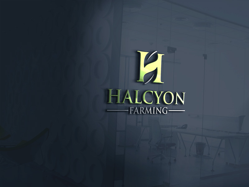 Logo Design by Private User - Entry No. 5 in the Logo Design Contest Creative Logo Design for Halcyon Farming.