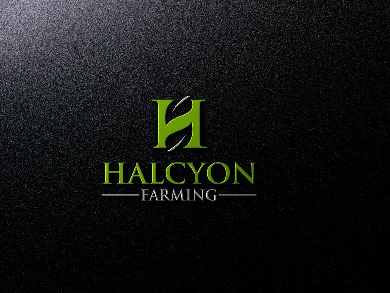 Logo Design by Private User - Entry No. 6 in the Logo Design Contest Creative Logo Design for Halcyon Farming.