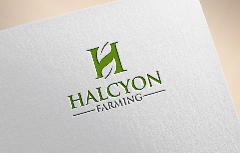 Logo Design by Private User - Entry No. 7 in the Logo Design Contest Creative Logo Design for Halcyon Farming.