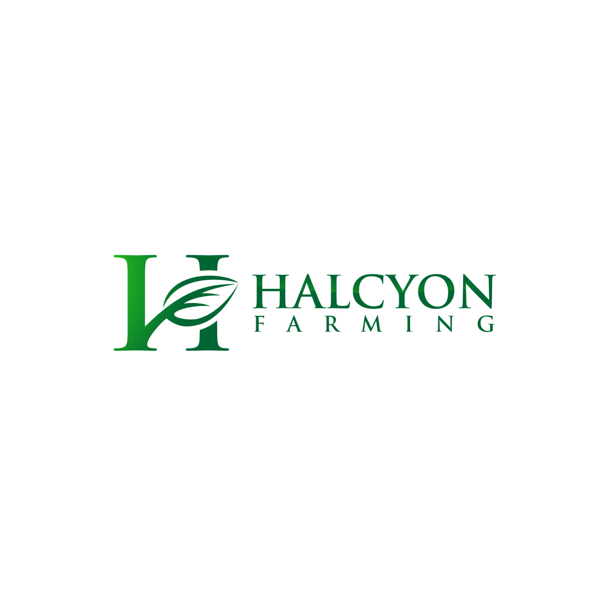 Logo Design by Analla Art - Entry No. 9 in the Logo Design Contest Creative Logo Design for Halcyon Farming.