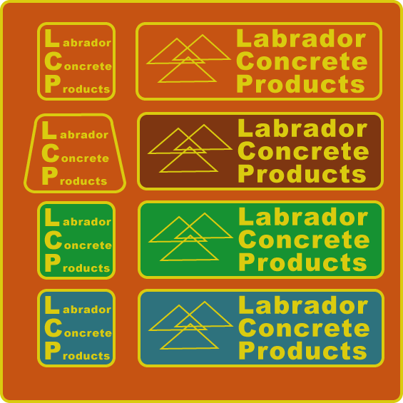 Logo Design by NickHolmesHolmes - Entry No. 187 in the Logo Design Contest Logo for Labrador Concrete Products.