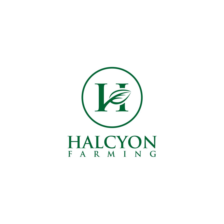 Logo Design by Analla Art - Entry No. 10 in the Logo Design Contest Creative Logo Design for Halcyon Farming.