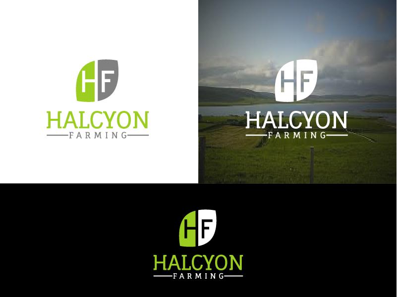 Logo Design by Private User - Entry No. 11 in the Logo Design Contest Creative Logo Design for Halcyon Farming.