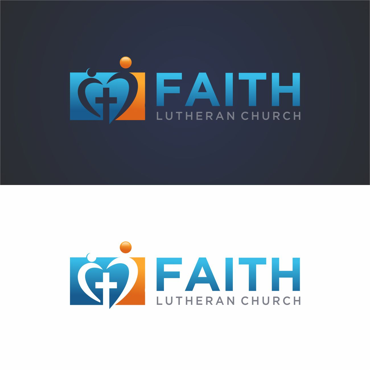 Logo Design by RasYa Muhammad Athaya - Entry No. 148 in the Logo Design Contest Logo Design for Faith Lutheran Church.