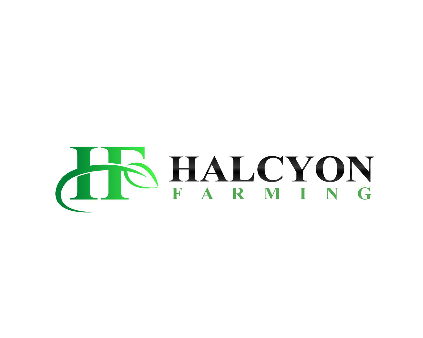 Logo Design by Allan Esclamado - Entry No. 13 in the Logo Design Contest Creative Logo Design for Halcyon Farming.
